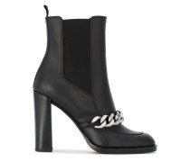 Leather Biker 105 Ankle Boots