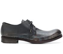 Derby-Schuhe mit Print
