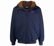 Hoodie mit Shearling-Futter