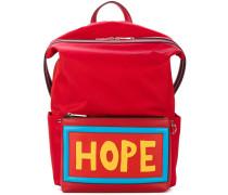 """Rucksack mit """"Hope""""-Aufschrift"""