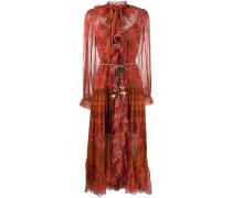 'Edie' Kleid mit Rüschen