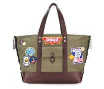 DSQ2 patch tote bag