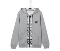 Plein hero print hoodie