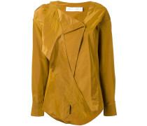 Hemd mit Wickeleffekt - women - Baumwolle/Seide