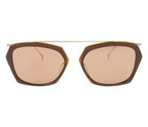 - Sonnenbrille mit sechseckigem Gestell - unisex