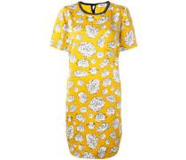 Kleid mit grafischem Blumen-Print - women