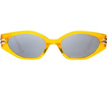 Ovale 'Ghost' Sonnenbrille