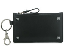 Rockstud zip wallet