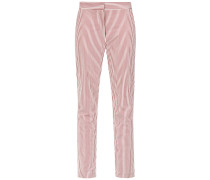 striped straight trousers - Unavailable