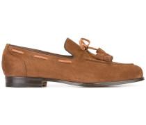 Klassische Loafer mit Quasten