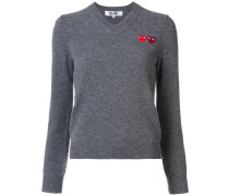 Pullover mit Logo-Patches - Unavailable