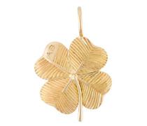 18kt yellow gold 'Clover' pendant
