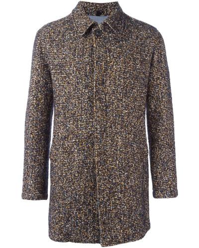 tonello herren tweed mantel mit langen rmeln reduziert. Black Bedroom Furniture Sets. Home Design Ideas