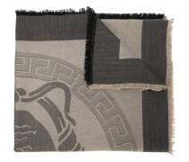 """Schal mit """"Greca""""-Muster und Medusa-Logo"""