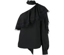 Gerüschte One-Shoulder-Bluse