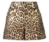Shorts mit Leoparden-Print - women