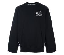 Sweatshirt mit Brust-Patch