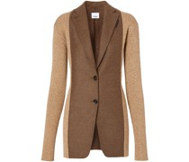 rib knit tailored jacket