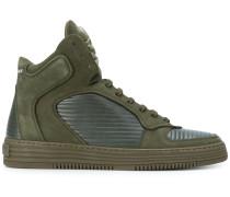 Inspection hi-top sneakers