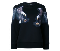 eagle print sweatshirt