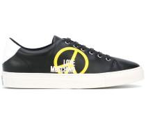 Sneakers mit Peace-Print - men