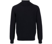 roll-neck knit jumper