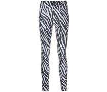 Jogginghose mit Zebramuster