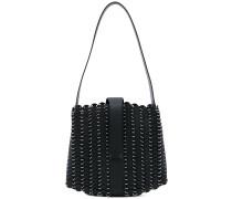 ring details shoulder bag - women - Kalbsleder