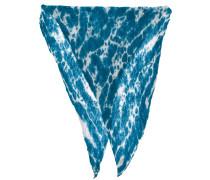 tie-dye printed scarf