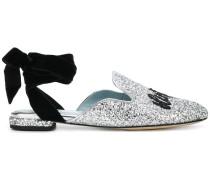 Chiara Suite lace-up mules