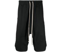 Oversized-Shorts mit tiefem Schritt