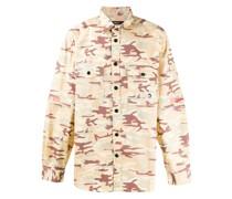 Hemd mit Camouflage-Print