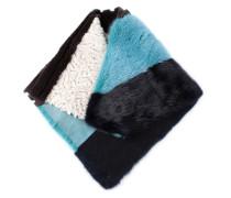 Schal mit Colour-Block-Optik
