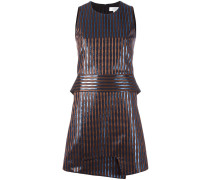 Gestreiftes Metallic-Kleid - women
