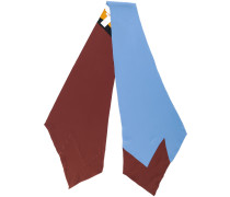 colourblock foulard