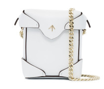Micro white Pristine cross body bag