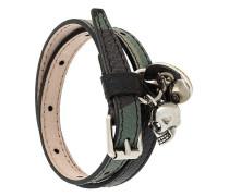 Armband mit Totenkopf-Anhänger