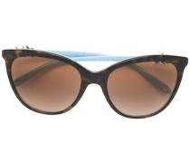 Tiffany & Co. Cat-Eye-Sonnenbrille in Schildpattoptik