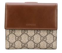 'GG Supreme' French flap wallet - women