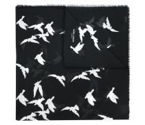 Wollschal mit VogelPrint