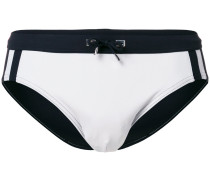 bicolour swimming briefs
