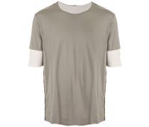 T-Shirt mit doppelten Ärmeln