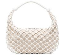 Luna net-overlay shoulder bag