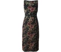 Florales Jacquard-Kleid - women