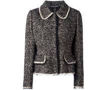 Tweed-Jacke mit Taschen - women