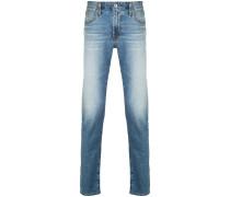 Halbhohe 'Dylan' Skinny-Jeans