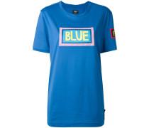 """T-Shirt mit """"Blue""""-Print"""