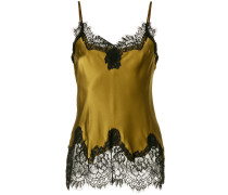 satin lace trim camisole