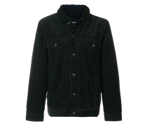 shearling collar corduroy jacket