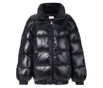 Logomania quilted jacket